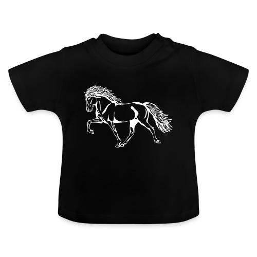 Weißer Tölter - Baby T-Shirt