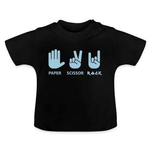 papier ciseaux roche c - T-shirt Bébé
