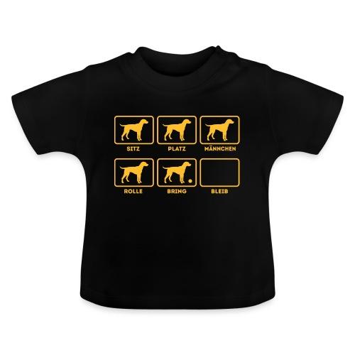 Für alle Hundebesitzer mit Humor - Baby T-Shirt
