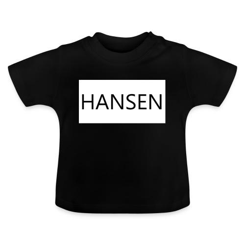 HANSENLOGO hvid - Baby T-shirt