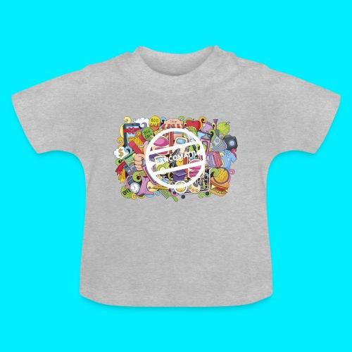 maglia logo doodle - Maglietta per neonato