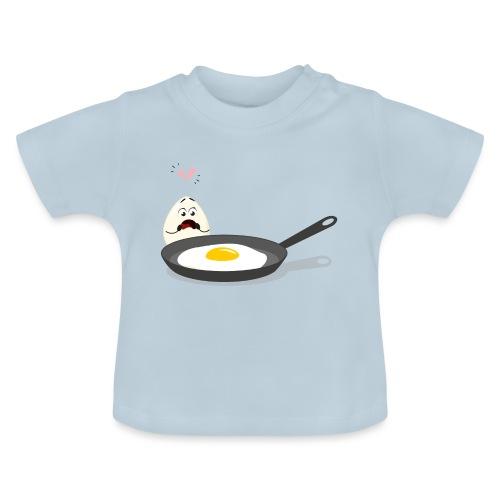 Broken Love, Eier, Liebespaar - Baby T-Shirt