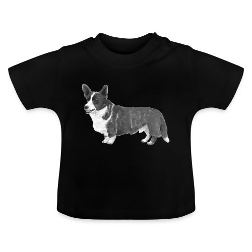 welsh Corgi Cardigan - Baby T-shirt