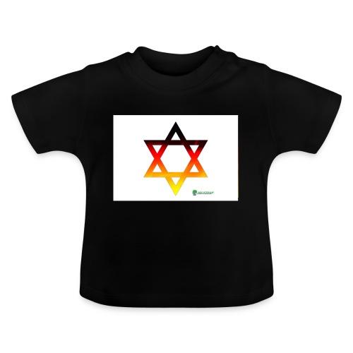 deutschland davidstern - Baby T-Shirt