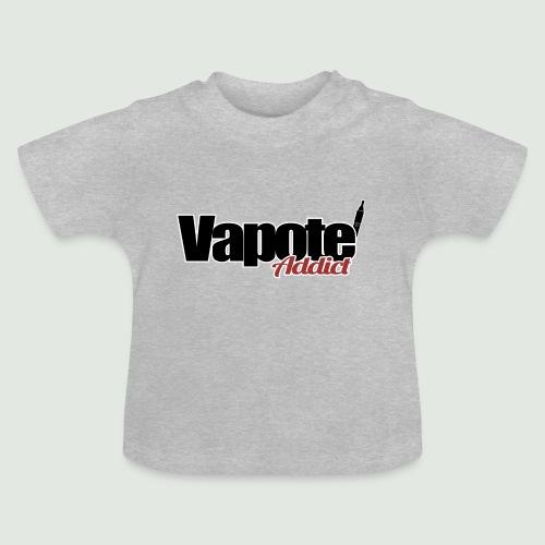 vapote addict - T-shirt Bébé