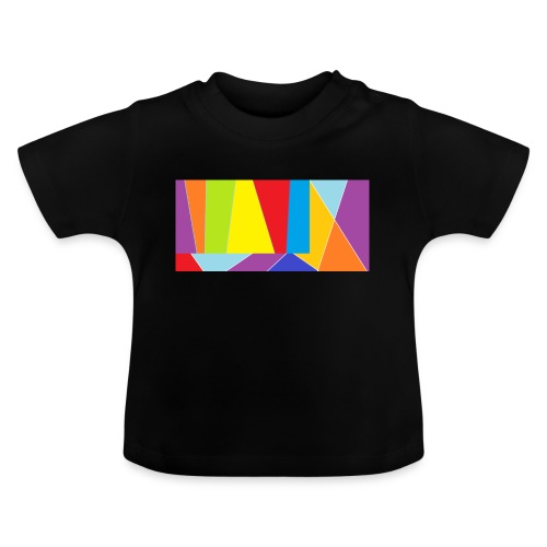 coler full emblem with black bakround - Baby-T-shirt