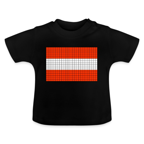 austrian flag - Maglietta per neonato