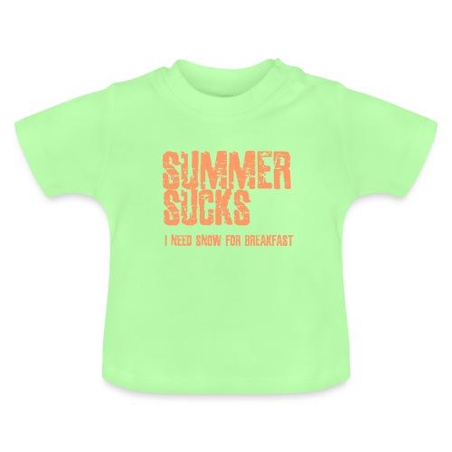 SUMMER SUCKS - Baby T-shirt