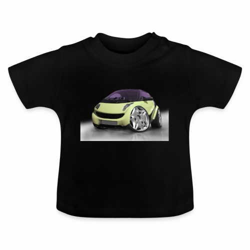 Smart, For two, Auto, Tuning, lustig - Baby T-Shirt