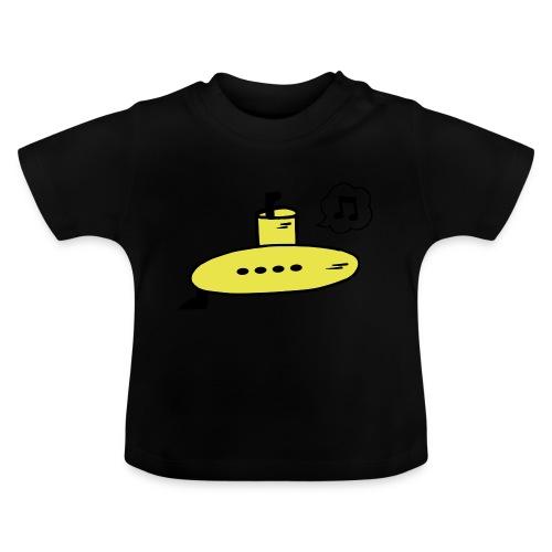 Singing Yellow Submarine - Baby T-Shirt