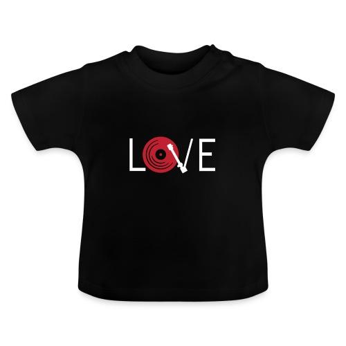 Love vynil - Maglietta per neonato