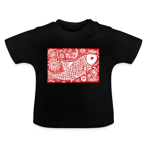 Fish in the sea - Baby T-shirt