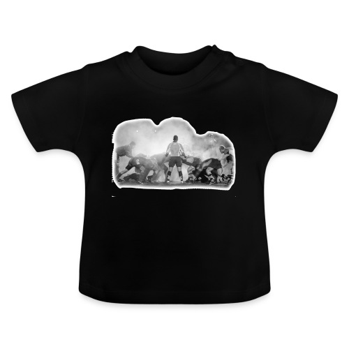Rugby Scrum - Baby T-Shirt
