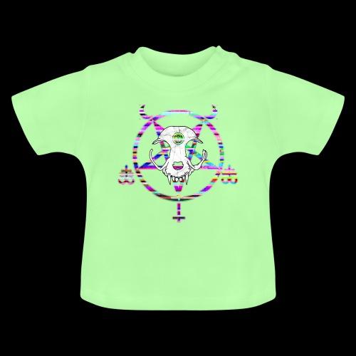 glitch cat - T-shirt Bébé