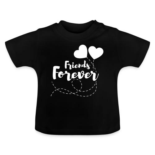 Friends forever Geschwister Zwillinge Partnerlook - Baby T-Shirt