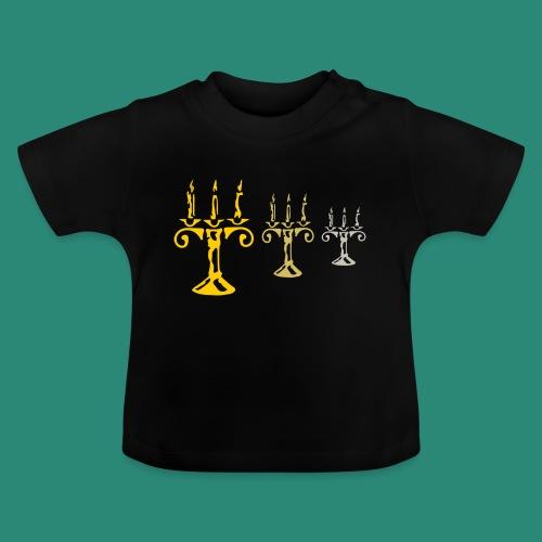 edles Kerzenlicht - Baby T-Shirt