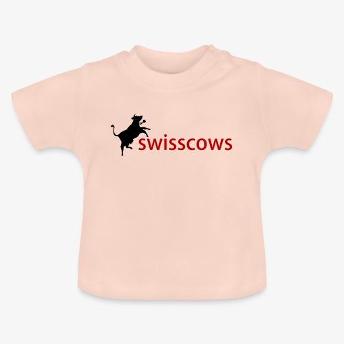 Schwarz-Rot Hoodie - Baby T-Shirt