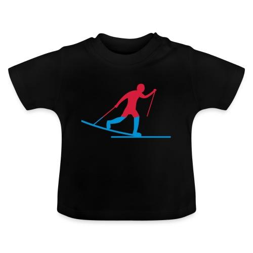 Skiløper - Baby-T-skjorte