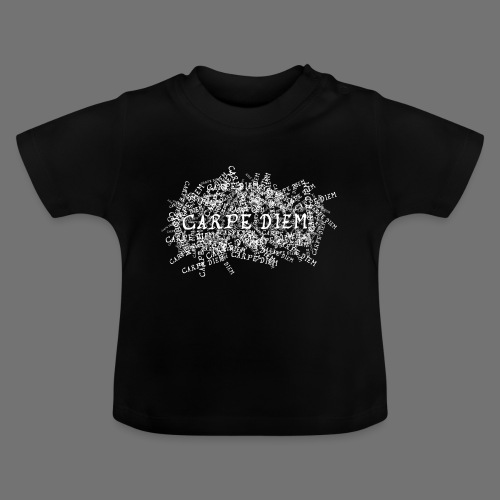 carpe diem (hvid) - Baby T-shirt