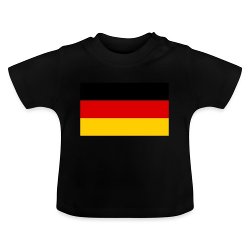 2000px Flag of Germany svg - Baby T-Shirt