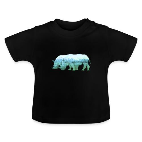 RHINOS, DIE NASHÖRNER IN DEN ALPEN - Baby T-Shirt