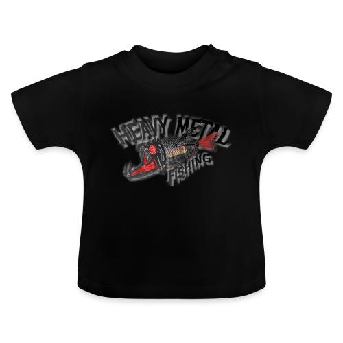heavy metal red black de - Baby T-Shirt