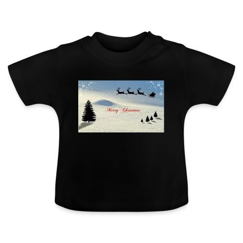 Hyvää joulua - Vauvan t-paita