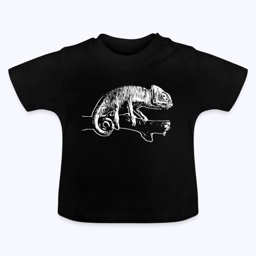 Chamäleon weiß - Baby T-Shirt