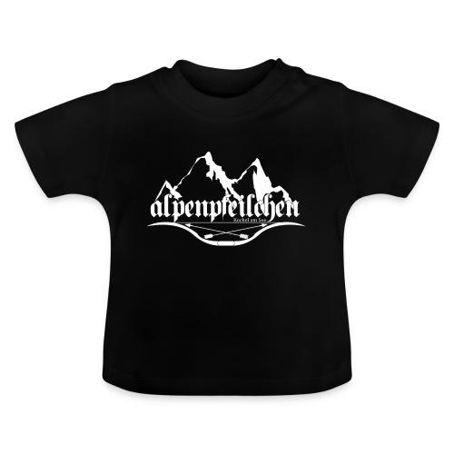 Alpenpfeilchen - Logo - white - Baby T-Shirt