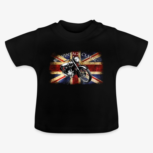 Vintage famous Brittish BSA motorcycle icon - Baby T-Shirt
