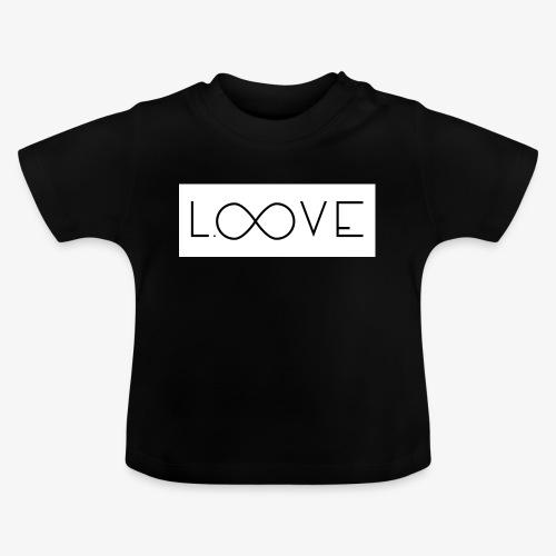 LOOVE Box Logo (SS18) - Maglietta per neonato