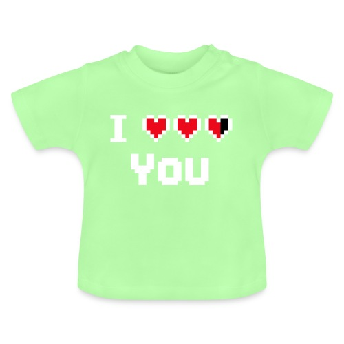 I pixelhearts you - Baby T-shirt