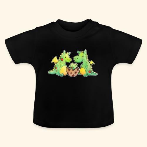 Drachenfamilie - Baby T-Shirt