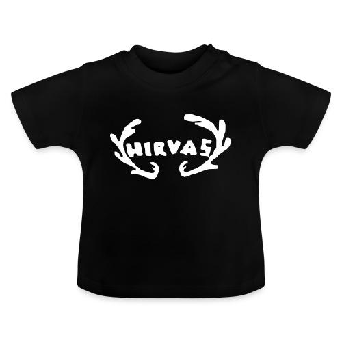 Hirvas vaalea - Vauvan t-paita