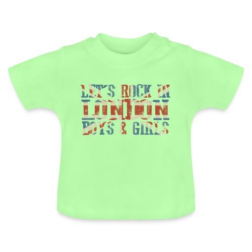 LET'S ROCK IN LONDON - Maglietta per neonato