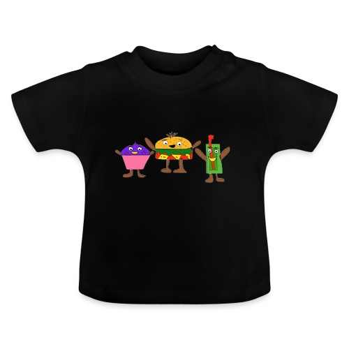 Fast food figures - Baby T-Shirt