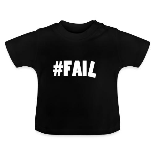 FAIL / White - T-shirt Bébé
