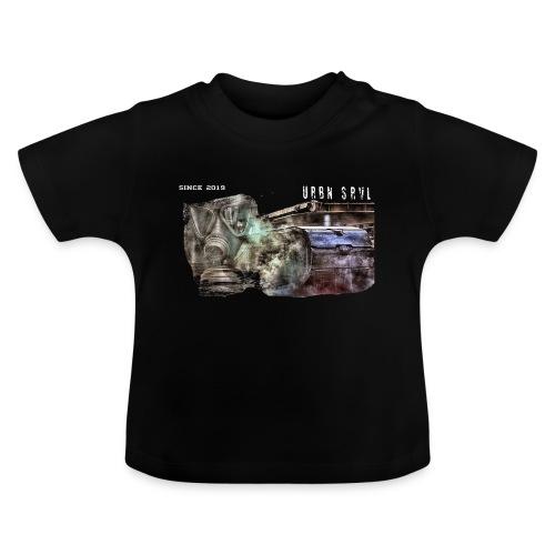 gas mask 2 white - Baby T-Shirt