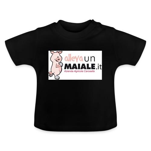 Allevaunmaiale.it con Azienda - Maglietta per neonato