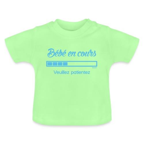 Bébé en cours Bleu (F) - T-shirt Bébé