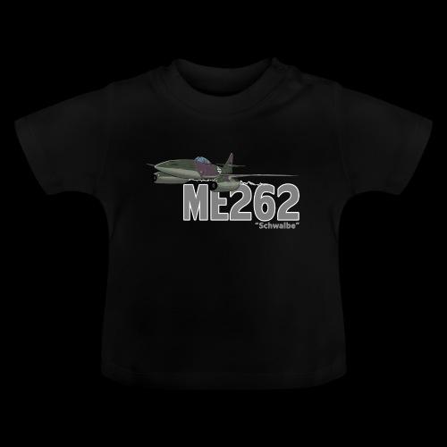 Me 262 Schwalbe (writing) - Maglietta per neonato