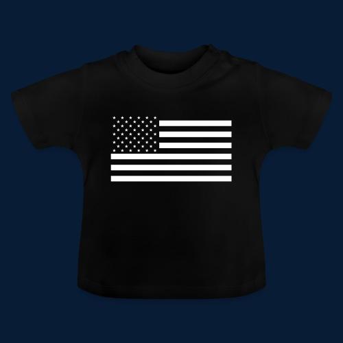 Stars and Stripes White - Baby T-Shirt