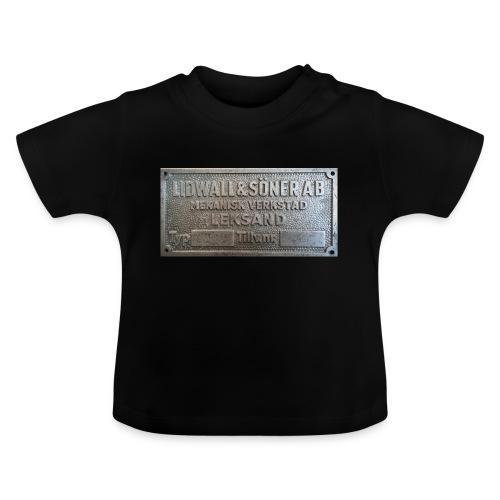 Tillverkningsskylt före 1967 - Baby-T-shirt