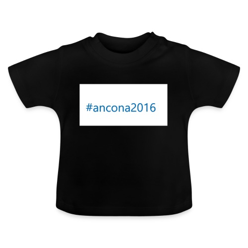 #ancona2016 - Camiseta bebé