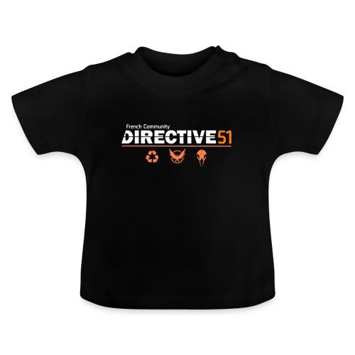 D51recy png - T-shirt Bébé