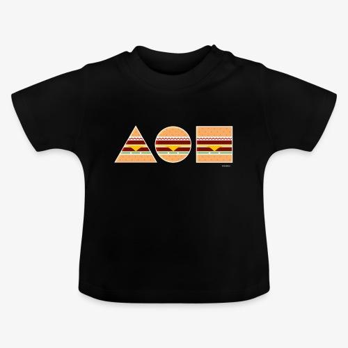 Graphic Burgers - Maglietta per neonato