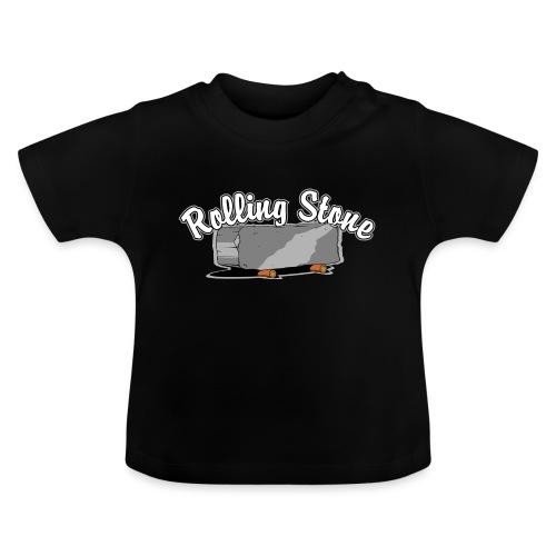 roll, stone, concrete, - Koszulka niemowlęca
