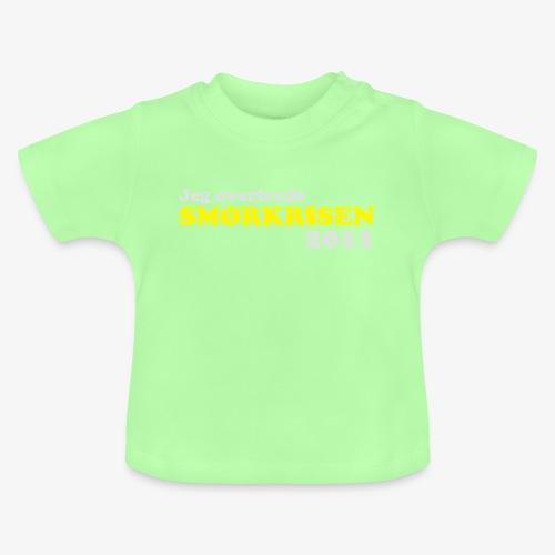 Smørkrise 2011 - Norsk - Baby-T-skjorte