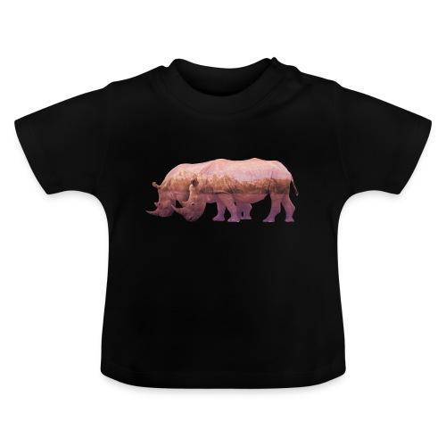 Nashorn Alpen - Baby T-Shirt