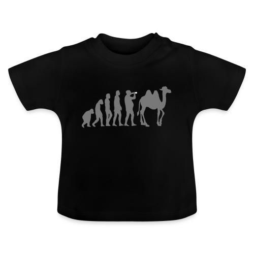 evolution_chameau2 - T-shirt Bébé